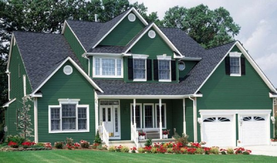 Dark-Green-Color-Home-Paint-Exterior-1024x605