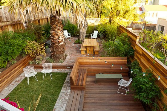 Backyard Deck Ideas For Small Yards : landscapebackyarddecksforsmallyardsdesignmodern